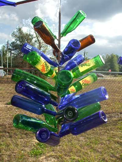 bottle trees that hang